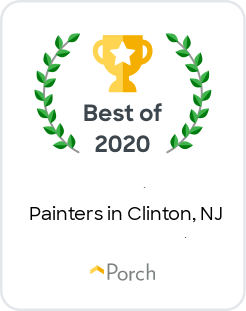 best of 2020 badge from porch for best painters in clinton new jersey