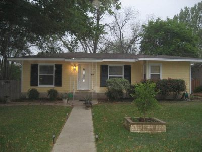 Exterior painting by CertaPro house painters in Alamo Heights, TX