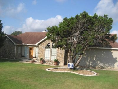 Exterior painting by CertaPro house painters in Timberwood Park, TX