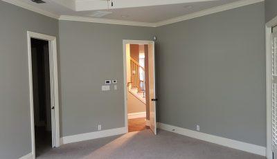 Interior Master Bedroom Painting