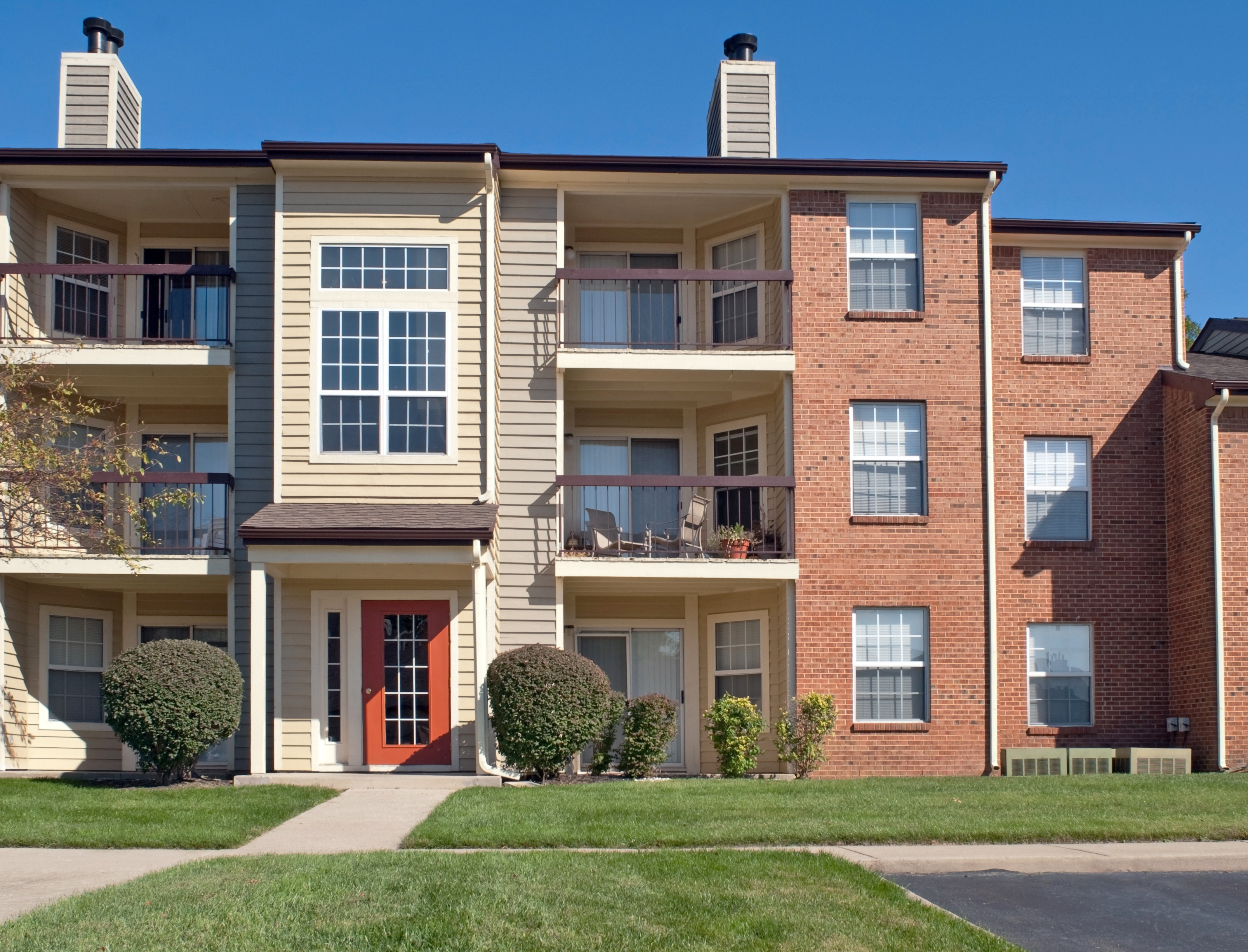 Commercial Apartment painting by CertaPro house painters in Chagrin Falls, OH
