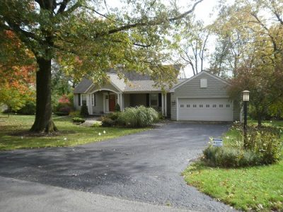 Exterior house painting by CertaPro painters in Chagrin Valley, OH