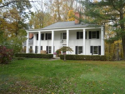 Exterior house painting by CertaPro painters in Geauga County, OH