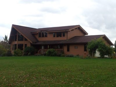 Exterior painting by CertaPro house painters in Geauga County, OH