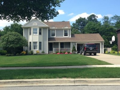 Exterior painting by CertaPro house painters in Solon, OH