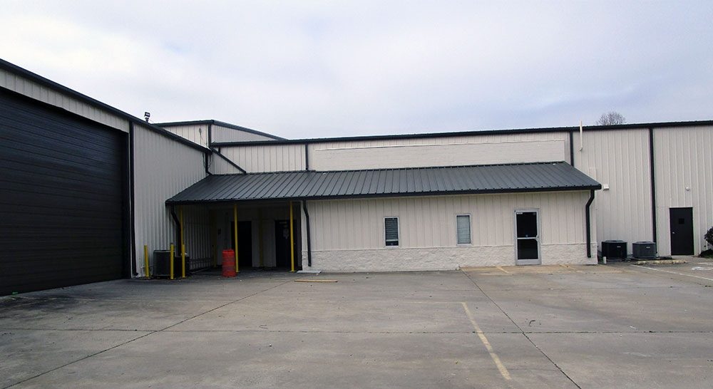 Exterior Commercial Warehouse in Dallas, NC After