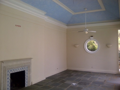Interior house painting by CertaPro painters in Charlottesville, VA