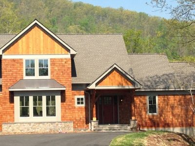 Exterior painting by CertaPro house painters in Charlottesville, VA