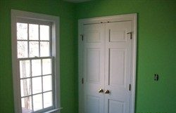 Interior painting by CertaPro house painters in Charlottesville, VA