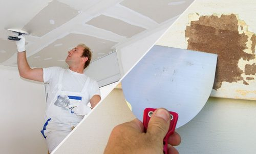 Interior and exterior painting preparation