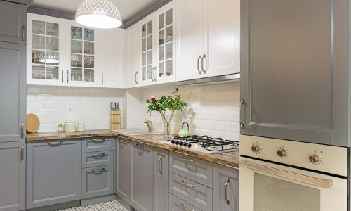 shutterstock_1411719467_kitchen_Painted_cabinets_white_gray_stock_interior