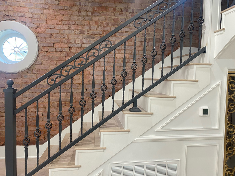 Metal Coatings by CertaPro Painters of Chattanooga, TN - Stair railing
