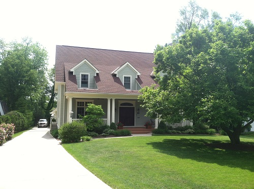 Exterior painting by CertaPro house painters in Blue Ash