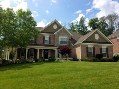 Exterior painting by CertaPro house painters in Anderson
