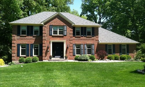 Exterior house painting by CertaPro painters in Loveland
