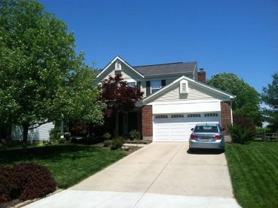Exterior house painting by CertaPro painters in Mason