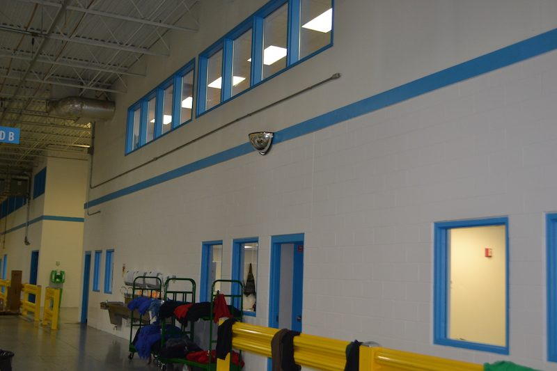 Commercial Warehouse painting by CertaPro Commercial Painters in Cincinnati, OH