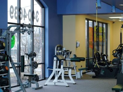 Commercial Gym painting by CertaPro Painters of Cincinnati, OH