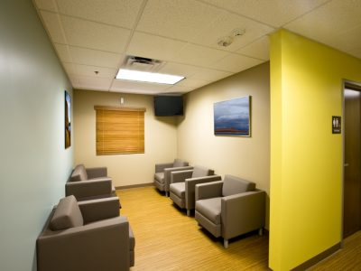 Commercial Interior Office Waiting Room Painting