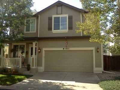 Exterior painting by CertaPro house painters in Stetson Hills, CO