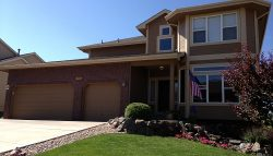 Exterior painting by CertaPro house painters in Jackson Creek, CO