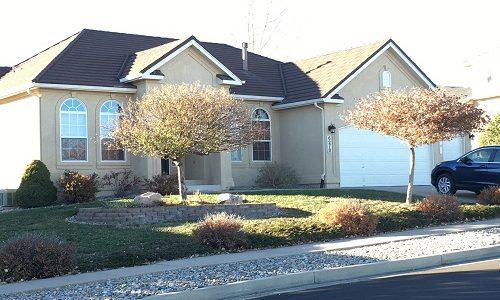 Exterior house painting by CertaPro Painters in Broadmoor Bluffs, CO