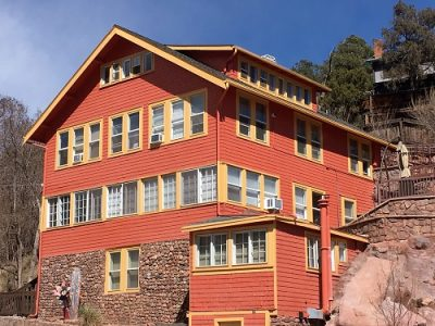 Exterior painting by CertaPro house painters in Manitou Springs, CO