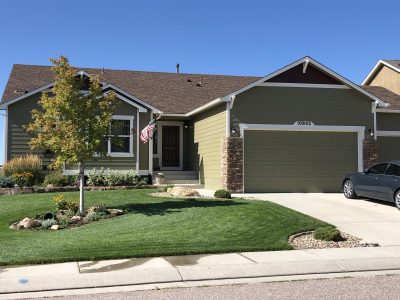 Exterior house painting in Peyton, CO