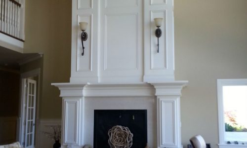 Mantle & Fireplace Painting