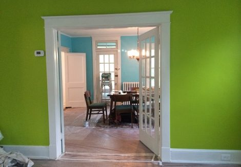 Interior Living Room Painting in Columbia