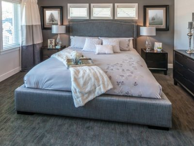 residential interior bedroom painting