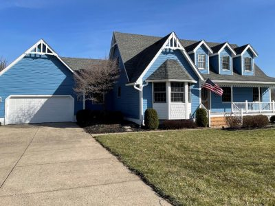 after exterior house painting in beavercreek oh