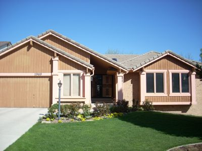 Exterior painting by CertaPro house painters in Denver West, CO