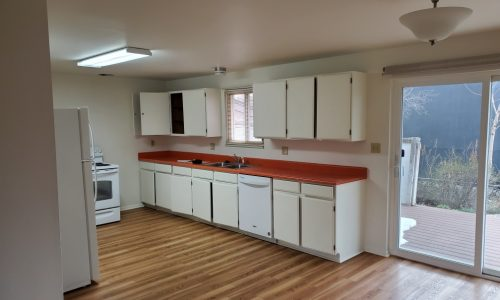 Brightening Colors on Kitchen Cabinets