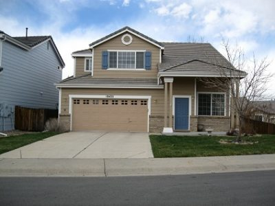 Exterior painting by CertaPro house painters in South Aurora, CO