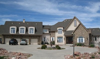 Exterior house painting by CertaPro painters in Franktown, CO
