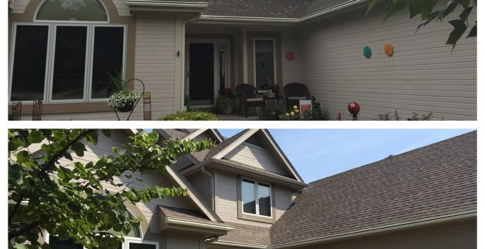 Exterior painting by CertaPro house painters in Des Moines, IA