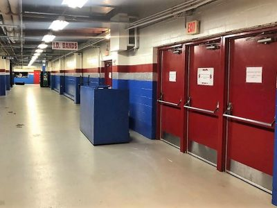 Commercial Sports Arena painting by CertaPro painters in Des Moines, IA