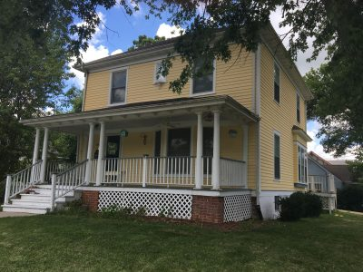 repainted exterior of a home in indianola, ia