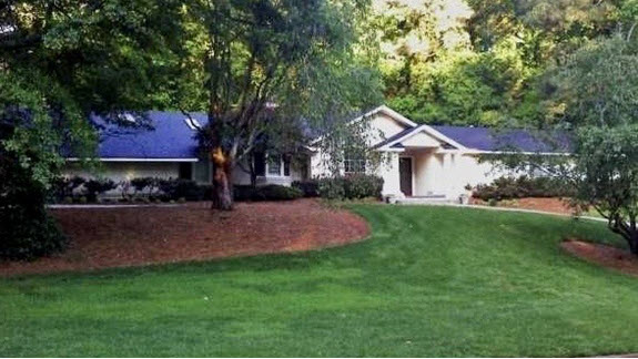 repainted ranch in sandy springs ga - before
