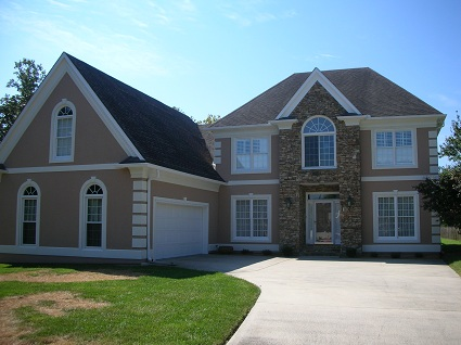 Exterior house painting by CertaPro painters in Pigeon Oak Ridge, TN