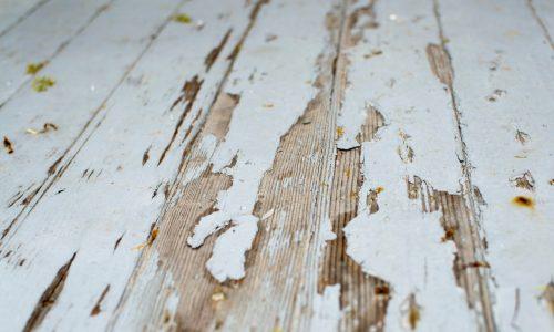 deck painting scrape lose paint