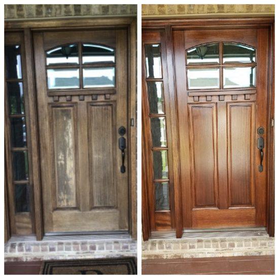 wooden door restoration