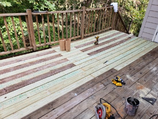 board repair for decks in knoxville