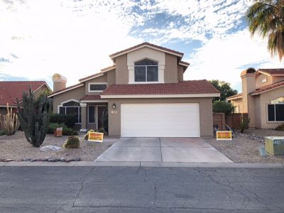 Residential Exterior Painting Project in Tucson AZ