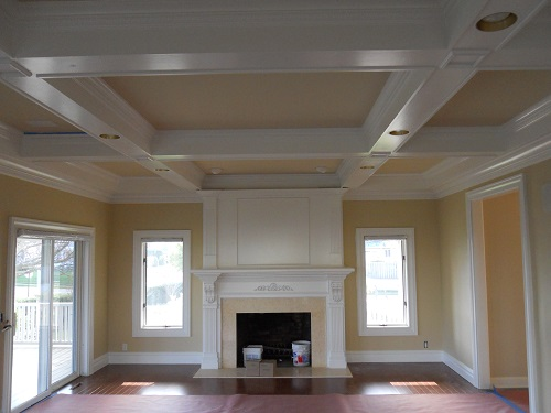 Interior house painting by CertaPro painters in Monmouth County