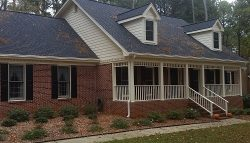 Exterior painting by CertaPro house painters in Lilburn, GA