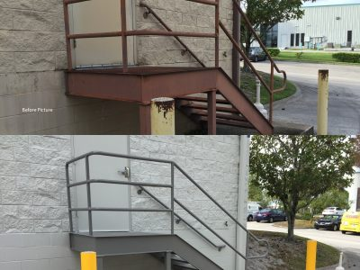 Exterior Stair and Entrance Renovation