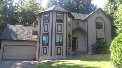 Exterior house painting by CertaPro painters in Issaquah, WA