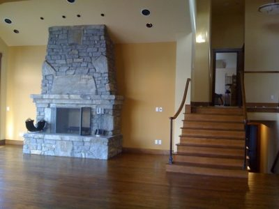 Interior house painting by CertaPro painters in Mercer Island, WA